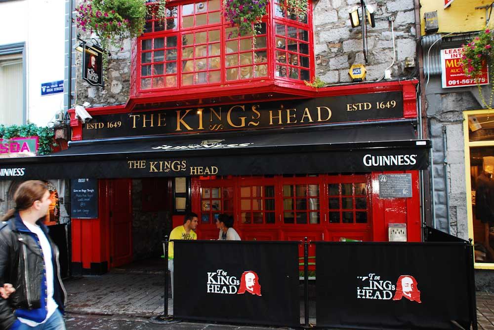 Der Gedanke an ein Irish Pub gibt Hoffnung ....