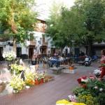 Typischer Plaza im Albaycin