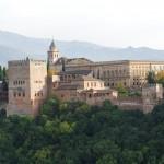 Die  Alhambra vom Albaycin aus