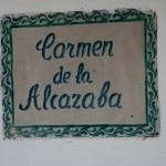 Die Häuser im Albaycin heißen Carmen
