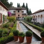 Wasserspiele in den Gärten der Alhambra