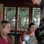 Oolong Tee wird bei Teehausmusik gereicht