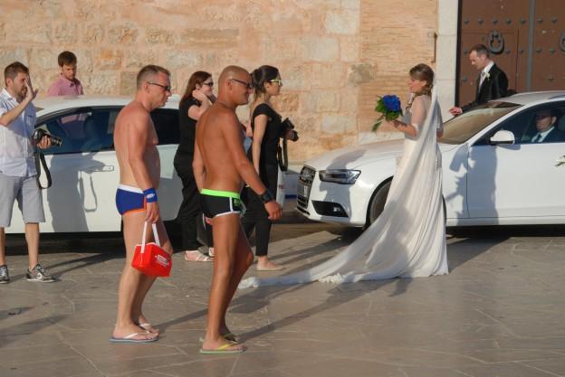 Hochzeit in Sitges, Provinz Barcelona