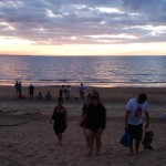 Am Mindel Beach in Darwin