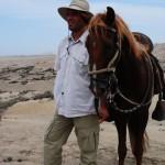 Archäologe Iván Ghezzi mit seinem Paso