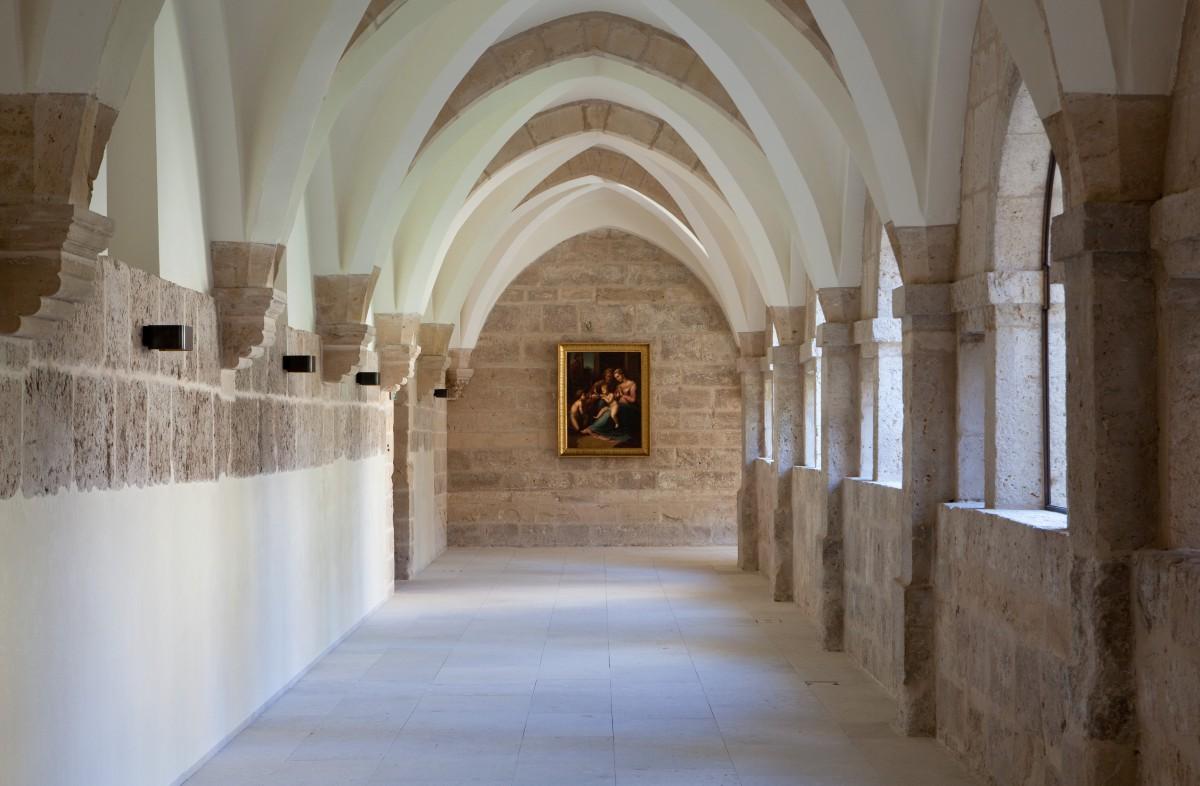 Der historsiche Kern blieb erhalten: so wurde das Kloster zum Luxusresort umgestaltet