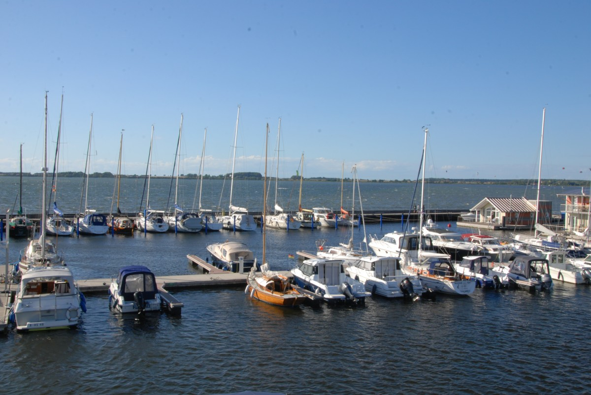 Hafen von Wiek