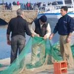 Fischer im Hafen von Gallipoli