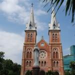 Relikt aus der französischen Kolonialzeit: Kathedrale Notre Dame