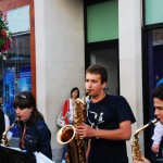 Straßenmusiker an jeder Ecke