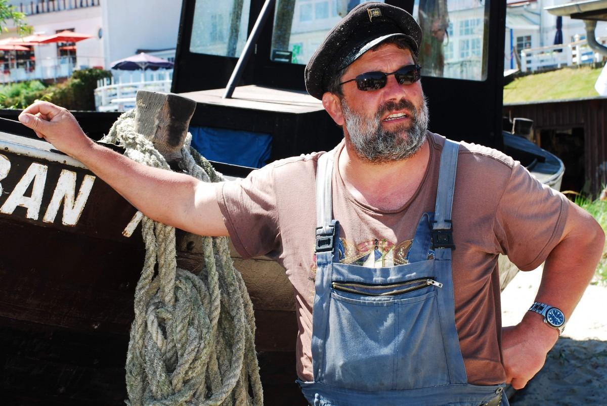 Eddy Stoll ist Fischer mit Herz und Seele