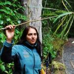 Furhana weiß zu jeder Pflanze den lateinischen Namen