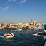 Galata-Brücke und Goldenes Horn