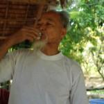 Herr Tam Ho gründete die Baumschule auf An Binh