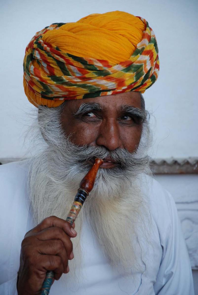 Inder mit Turban