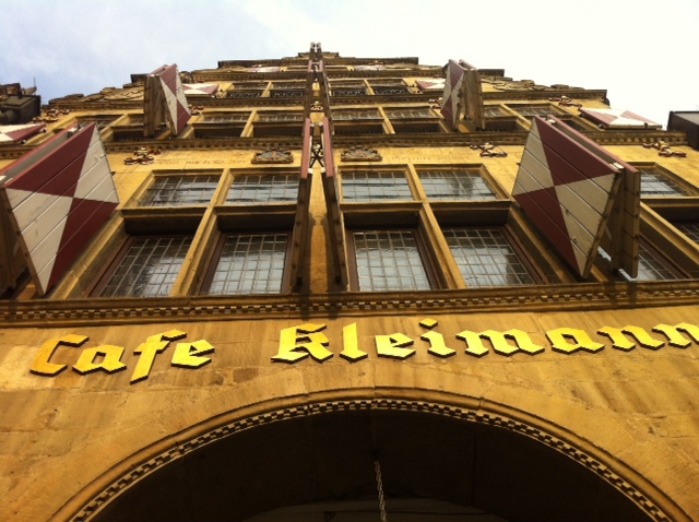 Das Cafe Kleimann hat nach wie vor Kultstatus...