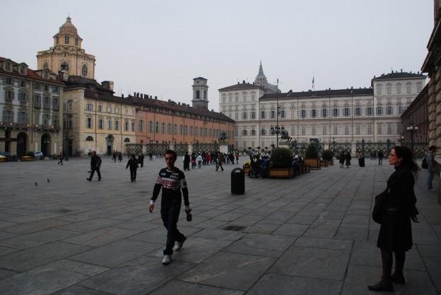 Piazza Castello mit Palazzo Reale