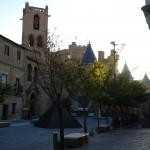 Olite: Plaza mit Königspalast
