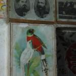 Porzellanrelief von Ludwig II im Haveli in Jaisalmar