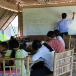 Schule auf der Insel An Binh