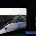 Blick aus der Lokomotive