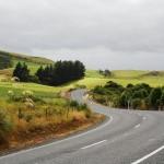 Straße durch die Catlins: Stundenlang kein Mensch in Sicht