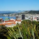 Die Hauptstadt Wellington ist Ausgangspunkt der Zugfahrt